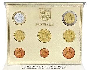 VATICANO-2017-DIVISIONALE-EURO-8-MONETE-FDC-STEMMA-NEW-ARMS-PREVENDITA
