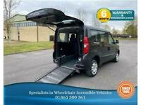 2014 Fiat Doblo Wheelchair Accessible Vehicle, WAV, Gowrings Mobility, disabled