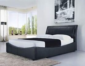 Double ottoman bed- brand new - free delivery