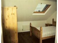 Beautiful furnished en-suite double room with skylight