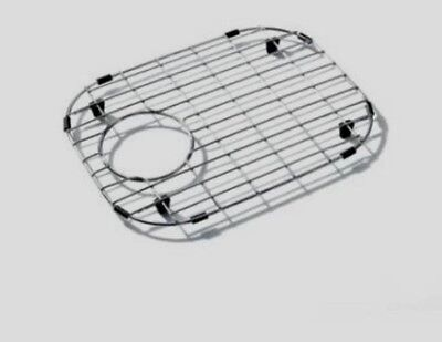madeli strainer kitchen sink protector bottom grid stainless steel sbg4233 15x11 - Kitchen Sink Protector
