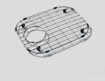 madeli strainer kitchen sink protector bottom grid stainless steel sbg4233 15x11 - Kitchen Sink Protector