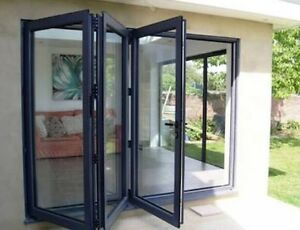 AFB GLASS AND ALUMINIUM BI FOLD ALUMINIUM DOORS AND WINDOWS Milperra Bankstown Area Preview