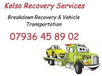 Kelso Recovery Services, Breakdown Recovery In & Around The Scottish Borders & North Northumberland