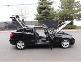 Mercedes Kompressor Coupe black