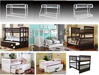 LORD SELKIRK FURNITURE - BUNK BEDS !!! IN STOCK!! CAPT BED $ 349
