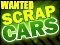 I want your scrap cars vans bikes MANCHESTER SCRAPPERS