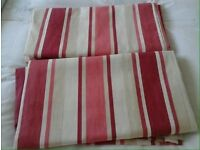 Stunning Laura Ashley curtains AND 4 matching cushions