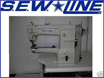 Sewline 2603 Cylinder Walking Foot Wsls 1000 Servo Industrial Sewing Machine