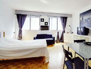 Studio walking distance Concordia and Mcgill available  Dec 1