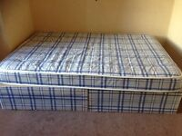 Double Divan Bed (Quick Sale)