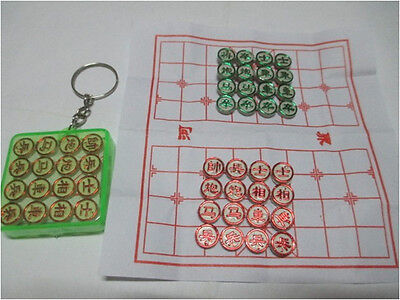 Super Mini Chinese Chess Game With Keychain