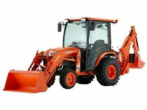 Tractor for hire with operator