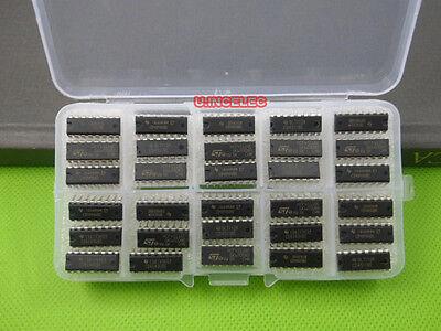 Cd4000 Series Cmos Logic Ic Assortment Kit Cd4001cd4094 30types