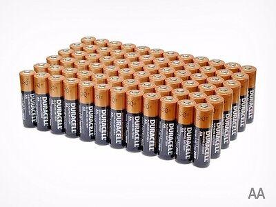 Изображение товара (60 Pack) Duracell AA 1.5v Alkaline Batteries (Exp 2027)