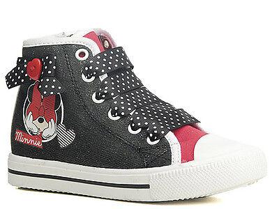 Sneaker Freizeitschuh Halbschuhe Mädchen Schuhe Minnie Mouse Maus - Minnie Maus Schuhe