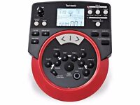 USB Electronic Drum module Techtonic DD512 Alesis trigger brain with cabels, PSU and mount clamp