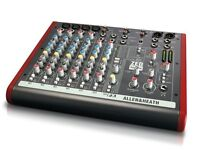 Allen & Heath ZED 10FX MIXING CONSOLE DESK WITH EFFECTS NEW ! ANALOGUE TO DIGITAL AUDIO INTERFACE