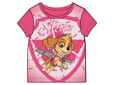 Paw Patrol pink türkis 92 98 104 110 116 128 Oberteil #706 (Paw Patrol Mädchen)