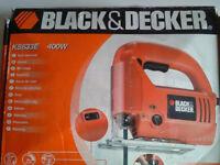 BLACK & DECKER JIGSAW KS633E 400W -corded