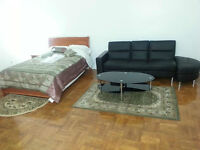 LARGE FURNISHED APARTMENTS, NO LEASE OR FIRST AND LAST,FREE NET