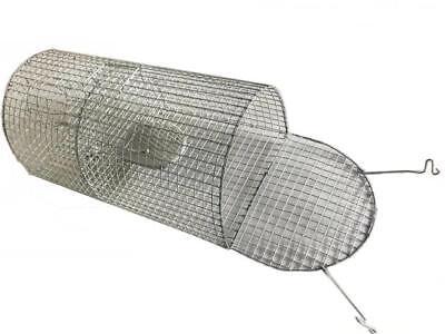 LARGE METAL RAT TRAP CAGE METAL MOUSE CAGE HUMANE ANIMAL PEST CONTROL UK