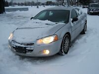 2006 Chrysler Sebring TOURING, ALL HIGHWAY MILEAGE, MUST SELL!!!