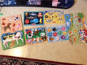 Puzzles ( mostly Melissa & Doug)