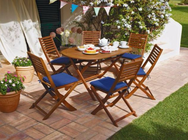 Superb Newbury 6 Seater Patio Set Brand New Bargain Price £79.99