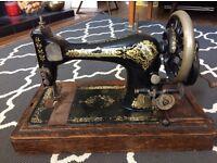 Singer sewing machine retro vintage