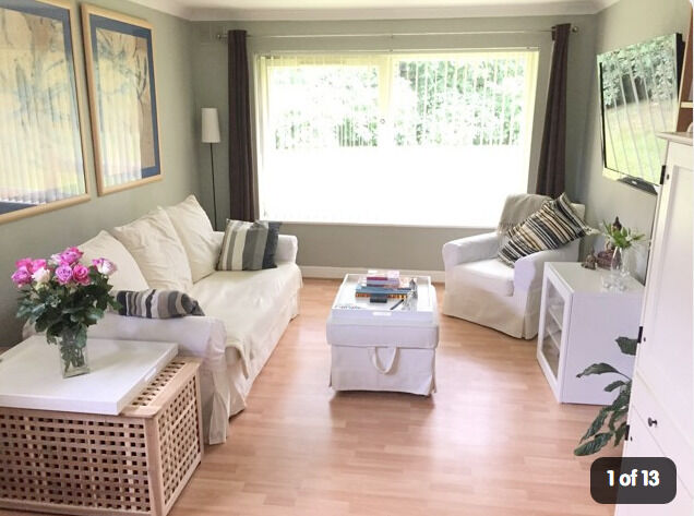 EXCHANGE ONLY - Large 2 Bed Ground Floor Flat in SOLIHULL/BIRMINGHAM to CENTRAL LONDON