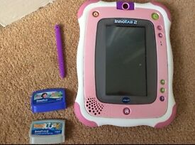 Innotab 2 Pink edition, with 2 games