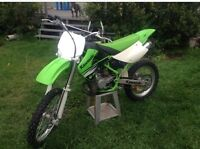 2002 kx 100 or 2004 cr 85 big wheel and 2008 pw 50