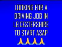 LOOKING FOR DRIVING JOB ASAP
