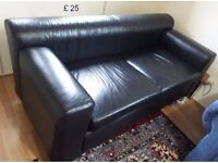 Blue and Black Sofa. Need Gone ASAP.