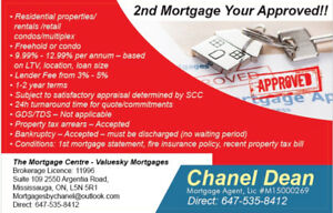 2nd Mortgages Up To 90% LTV Your Approved