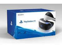 PSVR Playstation VR Playstation virtual reality headset and controllers and camera. like new