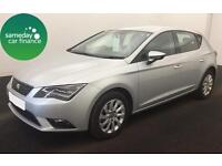 £170.91 PER MONTH SILVER 2013 SEAT LEON 1.6 TDI SE 5 DOOR DIESEL MANUAL