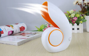 Snails USB Mini Small Air Conditioner Cooler Bladeless Refrigeration No Leaf Fan
