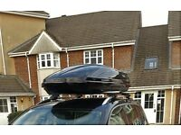 Thule Motion Roof Box with WingBar and Brackets