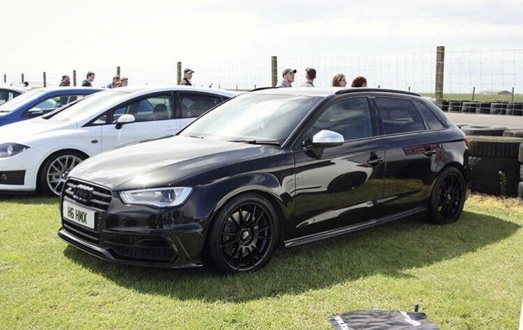 audi s3 8v panther black in clarkston glasgow gumtree. Black Bedroom Furniture Sets. Home Design Ideas