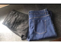 Brand new jeans x2 size 14