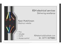 Electrician/Fire & Security Eng for hire