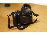 Nikon DSLR D5000 camera SLR choice of nikkor 18-140 or 1.8 50mm prime af-s