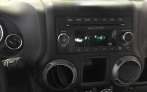 Stock JK Jeep radio