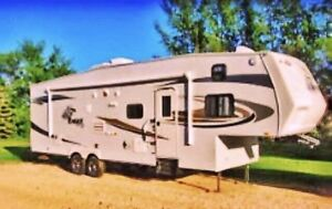 2010 jayco 5th wheel bunkhouse for trade