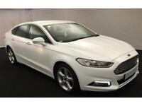 FORD MONDEO WHITE 2.0 TDCI 180 TITANIUM P/S HATCHBACK DIESEL FROM £72 PER WEEK!