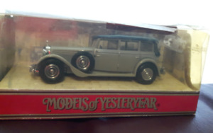 MATCHBOX  MODELS OF YESTERYEAR - Y40 1931 MERCEDES BENZ 770 $18