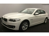 White BMW 520d se x drive 2015 4 door Manual Euro 6 FROM £62 PER WEEK!