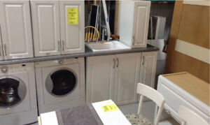 New Laundry room Cabinetry Fonthill Restore